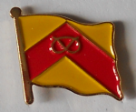 Staffordshire County Flag Enamel Pin Badge